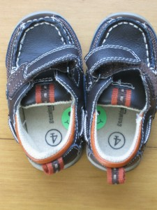 sticker in shoe